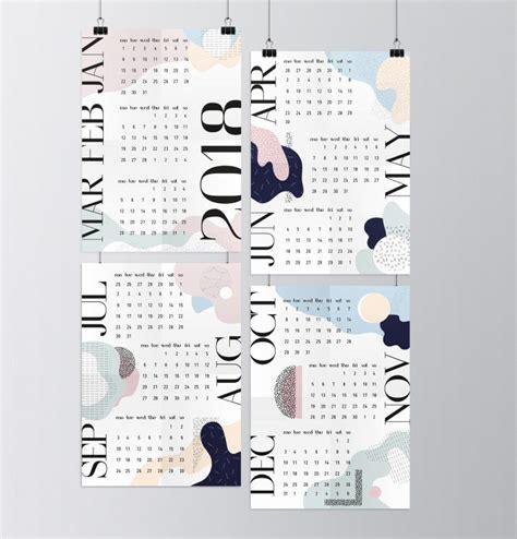 design kalender selbst gestalten diese 35 design kalender f 252 r 2018 werden dich zum staunen