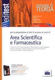 simulazioni test farmacia area scientifica e farmacia editest libri di ammissioni