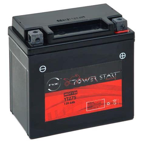 Motorradbatterie 12v 6ah by Motorrad Batterie Ytz7s 12v 6ah Mot126 All Batteries De