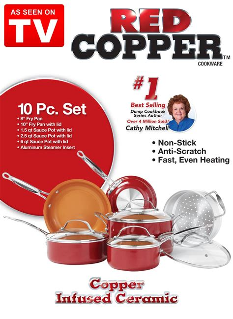 as seen on tv derama seta details copper 5 set