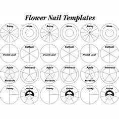 Free Flower Templates Pinterest Flower Flower Nails And Flower Template Wilton Flower Nail Templates