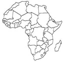 Scramble For Africa Outline Map by Scramble For Africa Blank Map