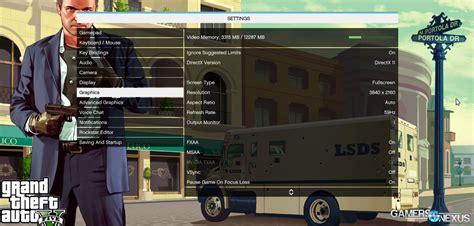 Pc Bench Table Gta V Pc Benchmark 1080 1440 Amp 4k Tested On Titan X