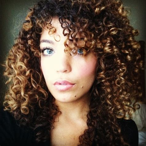 hairstyles for curly nasty hair 17 best images about balayage on pinterest curls color