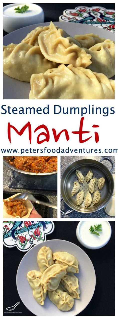 uzbek steamed dumplings manti pinterest central asian manti steamed dumplings popular in russia