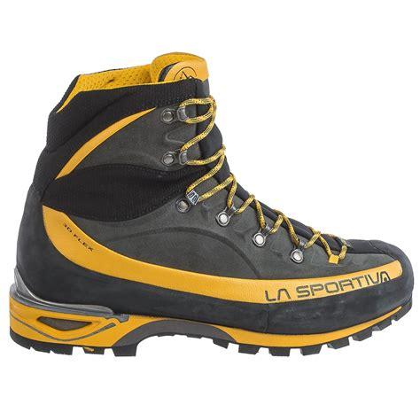 la sportiva mountaineering boots la sportiva tex 174 trango alp evo mountaineering boots
