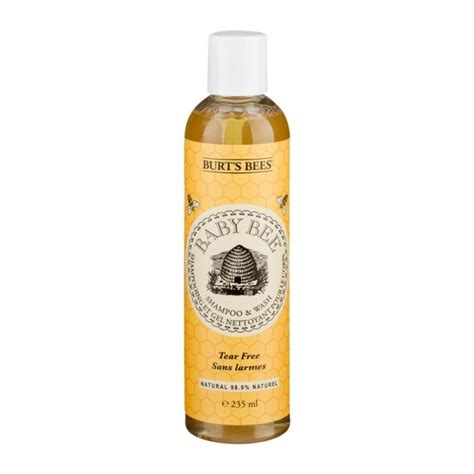 burt s bees baby wash burt s bees baby bee tear free shoo and wash no sting