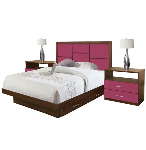 platform bedroom sets queen uptown queen size bedroom set w storage platform