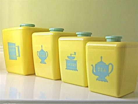 129 best yellow canisters images on pinterest vintage kitchen 55 best tea containers images on pinterest