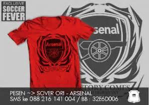 Kaos Arsenal Arsenal 4 kaos soccer fever arsenal kaos baru