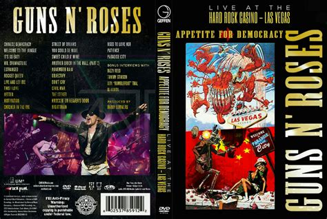 Guns N Roses Democracy by Guns N Roses Appetite For Democracy Live At The