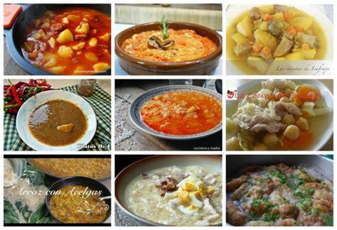 recetas de cocina de cuchara platos de cuchara f 225 ciles y econ 243 micos cocinera y madre