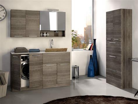 mobile lavatrice e lavabo mobile lavanderia in legno lavanderia 1 by legnobagno