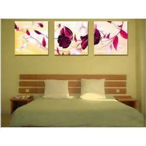 warm bedroom series handpainted flower painting on