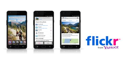 flickr for android yahoo brings flickr app to android market android authority