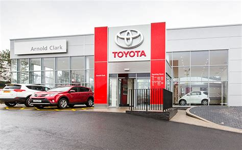 local toyota dealers car dealers in glasgow find your local arnold clark dealer