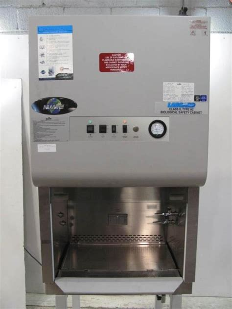 nuaire labgard biological safety cabinet class ii type a2
