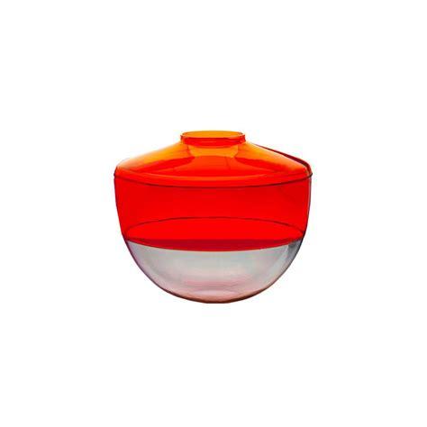 kartell shibuya vase by christophe pillet in orange