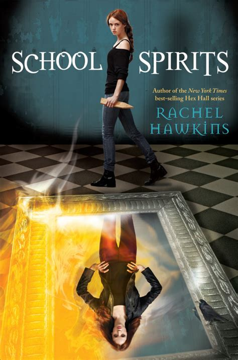 Hex Trilogy 1 Hex midnight bloom reads spotted cover of school spirits by hawkins