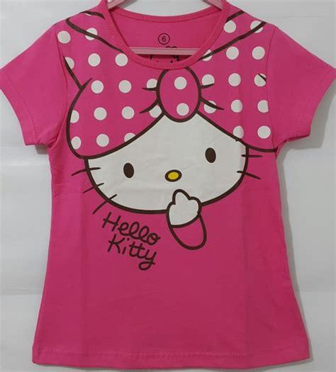 Payung Hello Pita baju hello murah baju anak hello pita pink