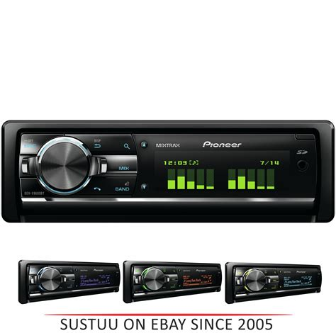 car stereo with usb pioneer car stereo media player radio cd usb aux bluetooth