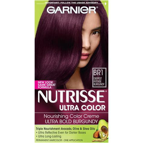 garnier hair colors garnier nutrisse ultra color nourishing hair