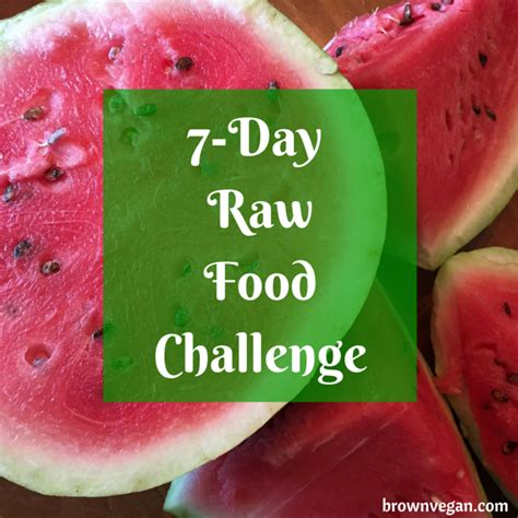 Vegan 7 Day Smoothie Detox by 7 Day Food Challenge Are You In Brown Vegan