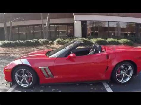 2011 corvette grand sport 2011 corvette grand sport 4lt convertible custom