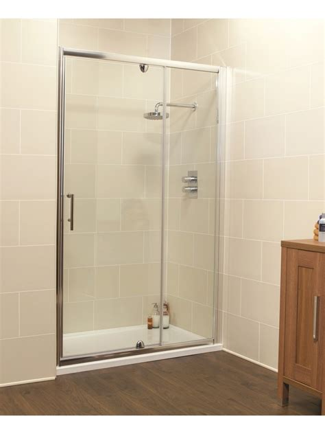 Kyra Range 1200 Pivot Inline Shower Enclosure Shower Door 1200
