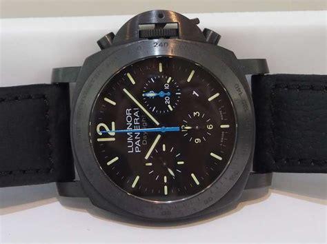 Panerai Daylight 3chrono Black panerai pvd luminor daylight chronograph buenos aires pam 363 wristwatch at 1stdibs