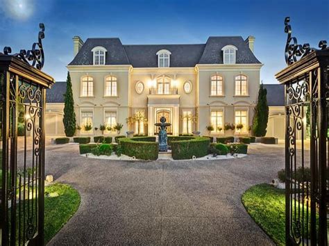 chateau homes chateau style home chateau style gated mansion in australia homes of