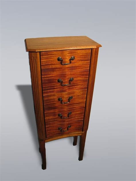 custom made jewelry armoire custom striped mahogany jewelry armoire by pennisi fine