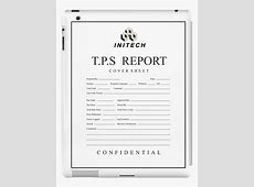 TPS REPORT COVER SHEET PDF Tps Report Printable