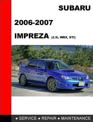 free car manuals to download 2007 subaru impreza seat position control subaru manual best repair manual download