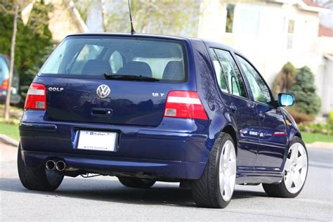 2001 volkswagen gti blue 200 interior and exterior images 2001 golf gls 1 8t oem styling mint