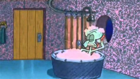 squidward bathtub squidward gets haunted by capitalists youtube