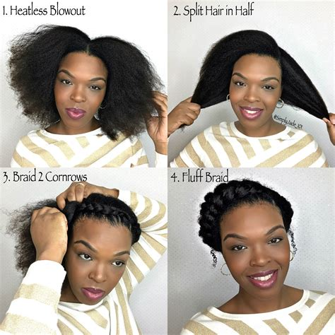 what typr of hair is neede for goddess braids how to goddess braid protective style step by step