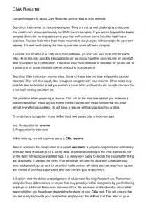 cover letter exles for nurses cna resume sle free cna resume templates free cna