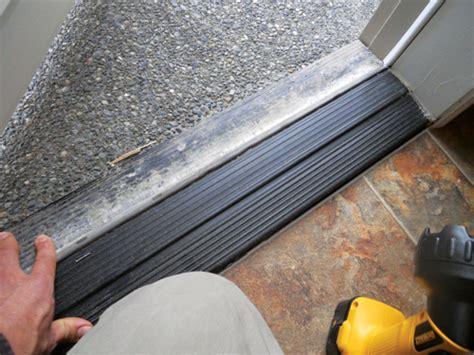 Door Threshold Repair by Image Gallery Exterior Threshold