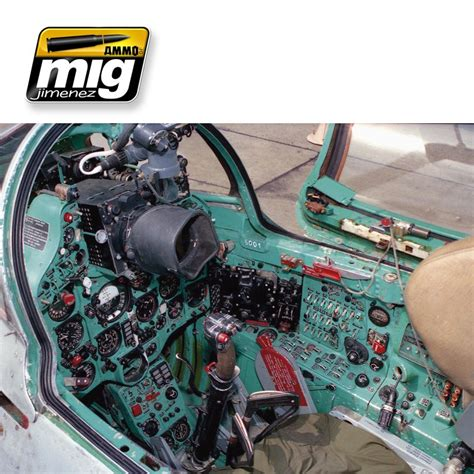 Amig 7436 Us Modern Cockpits ammo of mig jimenez modern russian cockpits set 7435 from emodels model hobby store based in