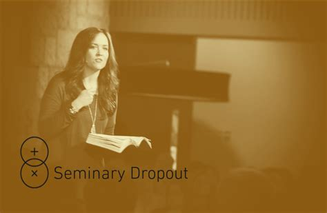 seminary dropout 177 tara beth leach author of