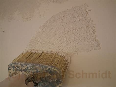 strukturputz innen streichen dekorputz selber herstellen die heimwerkerseite de
