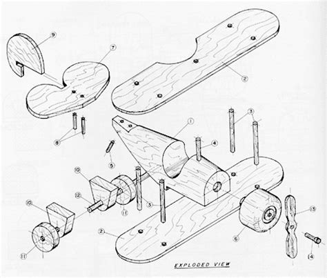 wood toy airplane plans plans