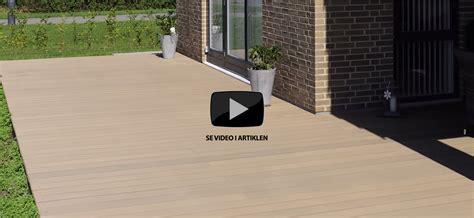 terrasse i komposit s 229 dan bygger du en komposit terrasse p 229 lav det selv dk