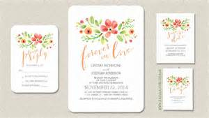 Wedding Invitation Wording Casual Read More Floral Wreath Painted Watercolors Wedding Invitations Wedding Invitations By Jinaiji