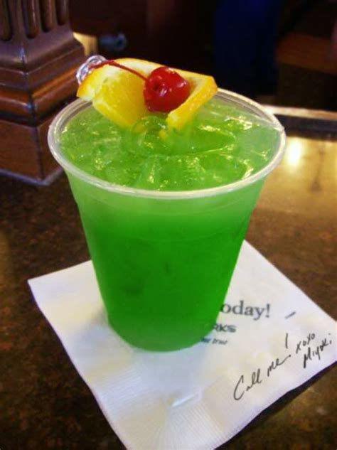 captain spiced rum and pineapple juice sour mix malibu rum and blue curacao on