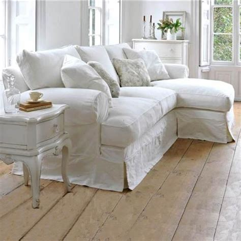 Shabby Chic Sectional Sofa Best 25 White Couches Ideas On Living Room Decor Cozy Living Room With Sectional