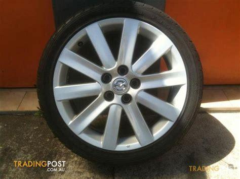 mazda stud pattern mazda 3 mps 18 inch genuine alloy wheels for sale in