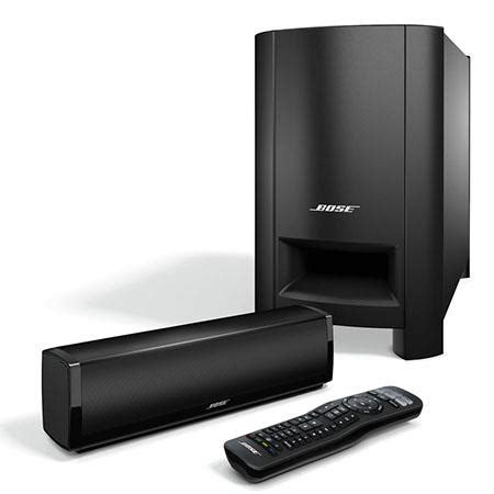 bose cinemate  home theater speaker system includes