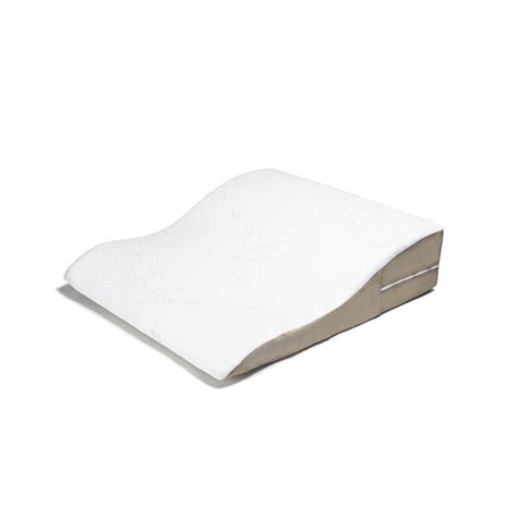 Side Sleeper Bed Wedge by Ogee Side Sleeper Pillow Bamboo Cover Avana Comfort